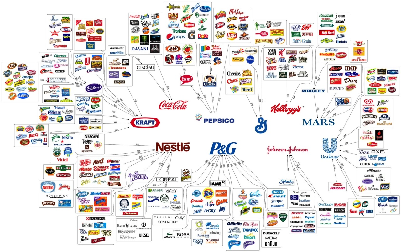 Brands infographic
